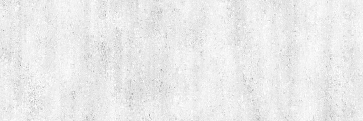 Fotobehang - Concrete background.White painted wall with gray and dirty texture.Long light wall.