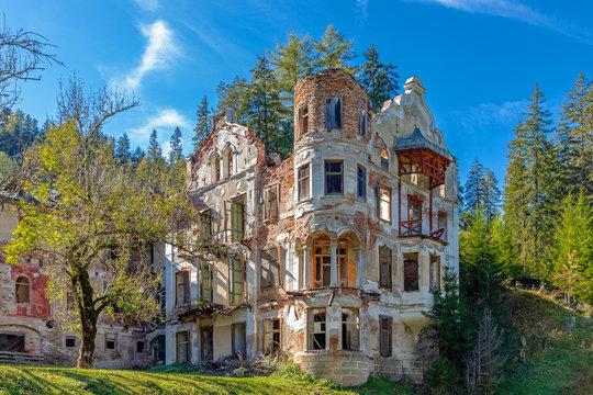 Ruinen von Wildbad Innichen, Südtirol