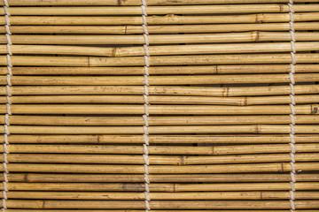 texture de bambou en gros plan Wall mural