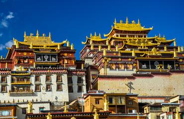 Fotobehang Bedehuis temple in China