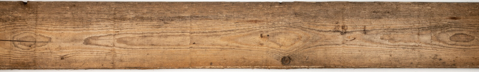 isolated old wooden empty panel Background. rustic textured grungy floor