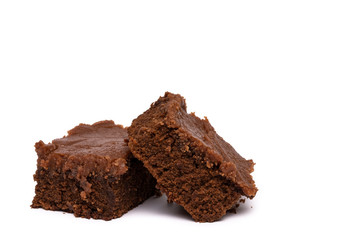 Chocolate Brownie Bars With Chocolate Frosting