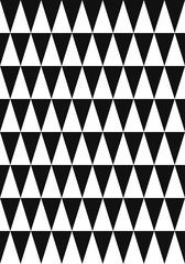 vector modern white multi triangle geometric on black background for brochure banner and publication