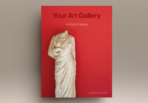 Art Catalog Layout