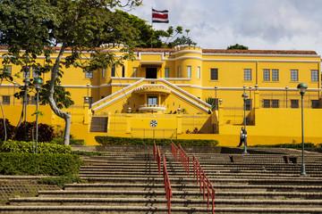 National Museum of Costa Rica in San Jose, photo taken on December 30, 2020