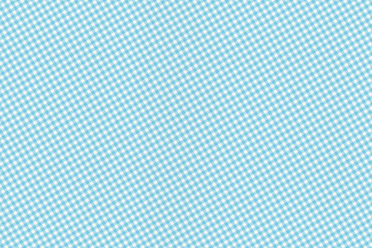 Blue and white textured gingham background pattern