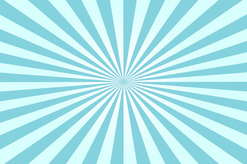An abstract blue sunburst background image.
