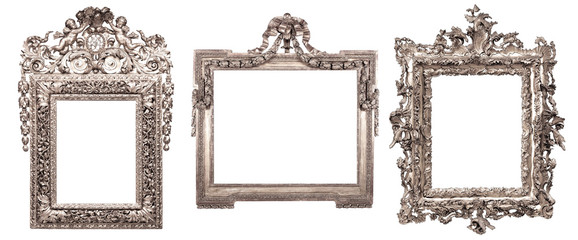 Obraz isolated antique picture frame - fototapety do salonu