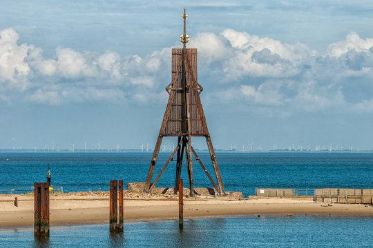Die Kugelbake in Cuxhaven
