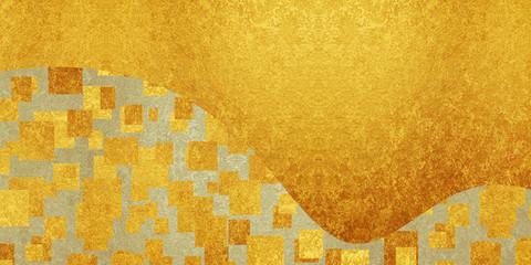 クリムトイメージの金の背景