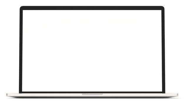 Laptop 3d rendering