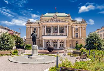 Croatian National Theatre Opera and Ballet in Rijeka Fotomurales