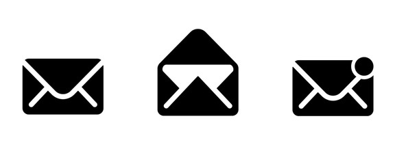 Obraz mail icon . web icon set .vector illustration - fototapety do salonu