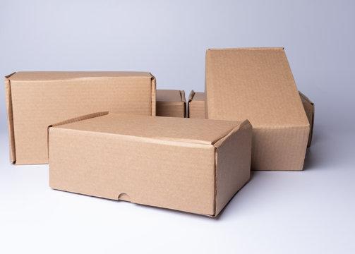 cardboard box for mockup