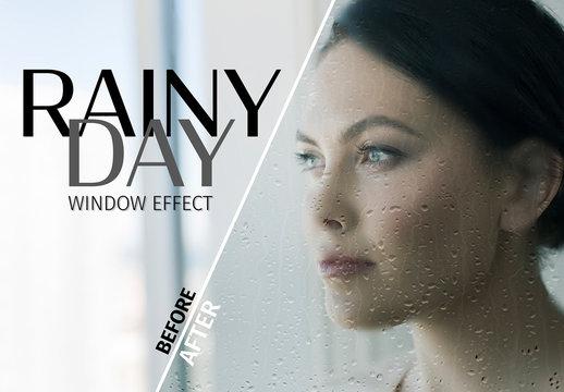 Window Reflection Effect Mockup