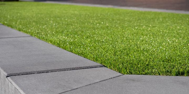 Kunstrasen - Rasenfläche