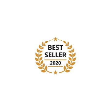 Best seller 2020. Vector logo icon template