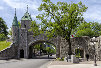 Saint Louis Gate - La porte Saint-Louis, Quebec City - Canada