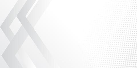 White hafltone presentation background. Vector illustration design for presentation, banner, cover, web, flyer, card, poster, wallpaper, texture, slide, magazine, and powerpoint.