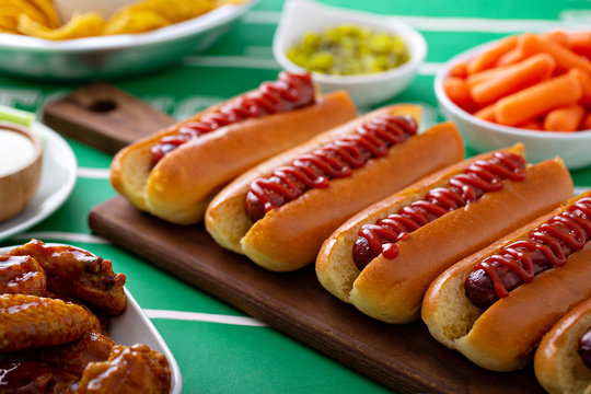 Hot dogs for game day