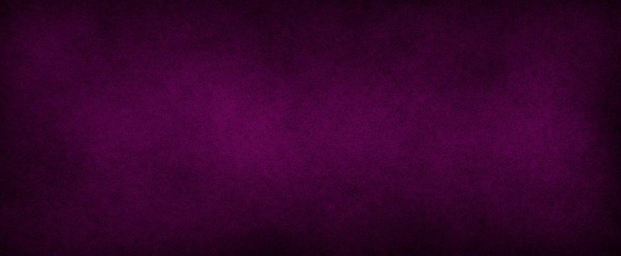 Dark elegant Royal purple with soft lightand dark border, old vintage background