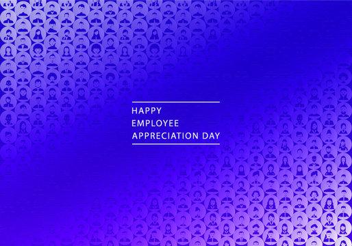 Happy Employee Appreciation Day Modern Background