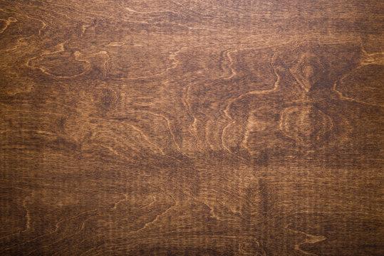 Dark brown tabletop