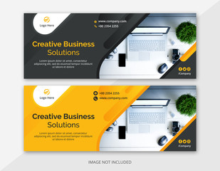 Corporate Business Facebook Cover Banner