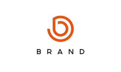 Circle Letter B Logo