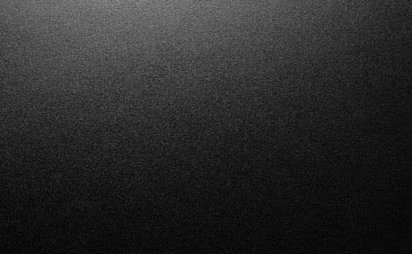 close up of a black plastic texture