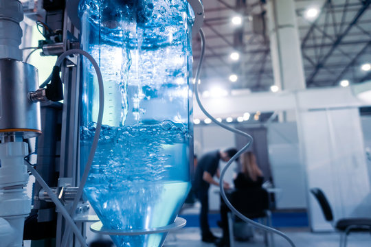 Automated process of water treatment