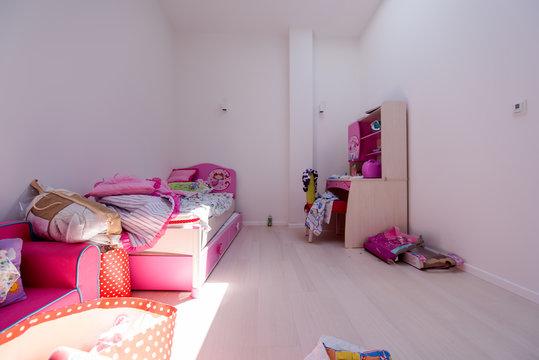pink little girl's room