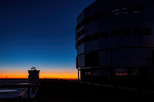 The Very Large Telescope compound at Paranal, Chile