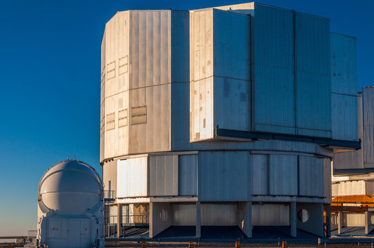 The Very Large Telescope complex on Cerro Paranal, Chile