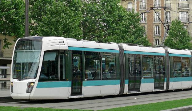 Paris, Rame de tramway