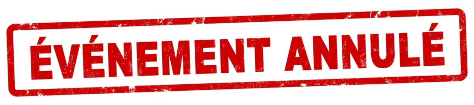 nlsb1295 NewLongStampBanner nlsb - étiquette / bannière française - français - timbre - événement annulé - événement - 4décimales5à1 - xxl f9124
