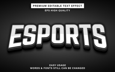 Wall Mural - esports text style effect
