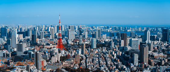 東京都市風景 Cityscape of Tokyo Japan