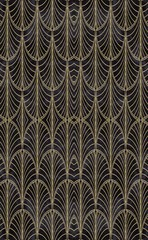 Art Deco Seamless Repeating Pattern