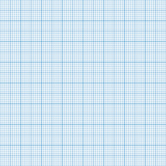 Millimeter grid. Square graph paper background. Seamless pattern. Vector illustration