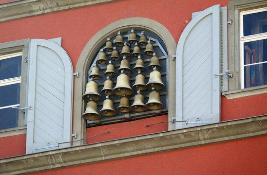 Glockenspiel am Neuen Rathaus von Lindau