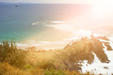 Byron Bay in New South Wales Australia