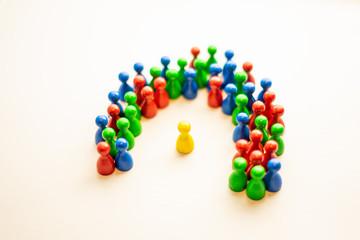 meeple society equality isolation tolerance diversity
