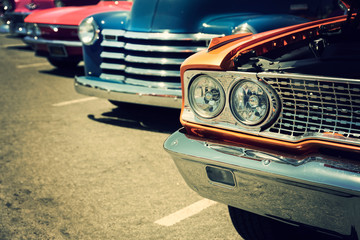 Fotomurales - Classic cars on the street
