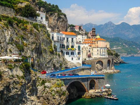 Atrani und Amalfi, Amalfiküste, italien