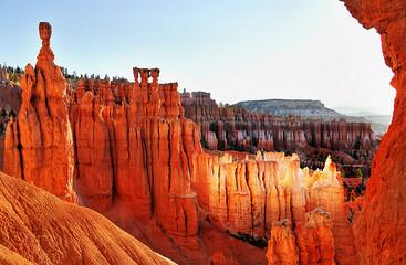 Foto auf Leinwand Rot kubanischen Bryce Canon National Park Utah, USA