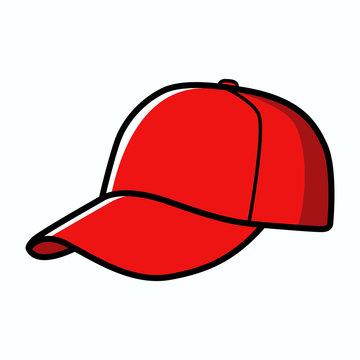 Baseball cap isolated on white