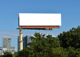 Large Billboard in South Florida Wall mural