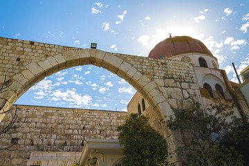 Roman Arc in Mausoleum of Saladin, Damascus , Syria