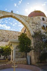 Roman Arc in Mausoleum of Saladin, Damascus, Syria